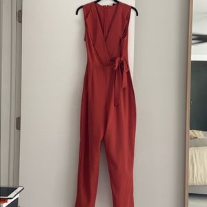 Jumpsuit - dark orange ver comfy